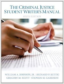Descargar It Elitetorrent The Criminal Justice Student Writer's Manual Todo Epub