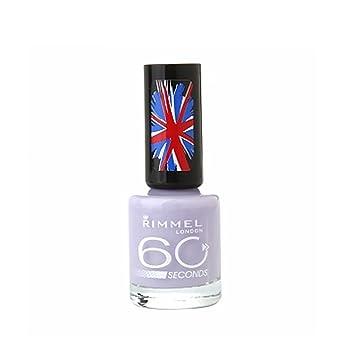Amazon.com: Rimmel London 60 Seconds Nail Polish - I Lilac You #410 ...
