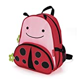 Skip Hop Zoo Insulated Toddler Backpack Livie Ladybug, 12'' School Bag,