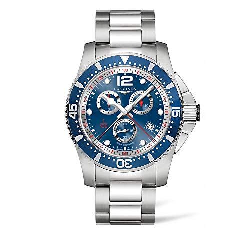 Longines HydroConquest Chronograph Blue Dial Mens Watch L38434966
