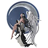 """Nene Thomas - Dark Haired Angel In Black N White Dress Sticker - 8"""" x 11"""" - Weather Resistant, Long Lasting for Any Surface"""