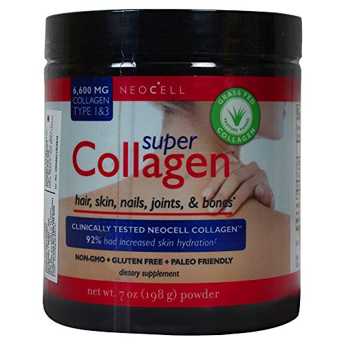 NeoCell Super Collagen Powder 6.600 Milligramm Collagen Typ 1 und 3 Unaromatisiert 7 Unzen