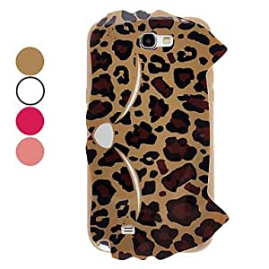 Buy Lovely Fox Leopard Pattern Soft TPU Case for Samsung Galaxy Note 2 N7100 , Rose