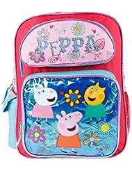Peppa Pig Large 16 School Backpack(blue)