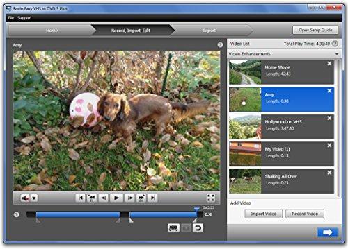 Roxio Easy VHS to DVD для Windows скачать бесплатно на