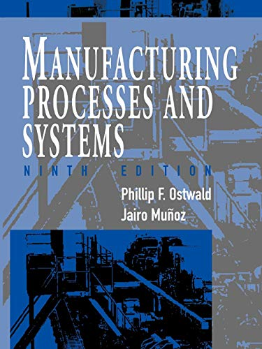 Manufacturing Processes 9e