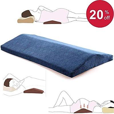 Lumbar Pillow For Sleeping Back Pain Soft Memory Foam Sleeping