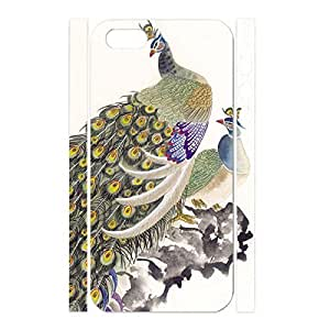 Fancy Peacock Feather Pattern Dustproof Hard Iphone 5/5s Case Cover for Women by mcsharks