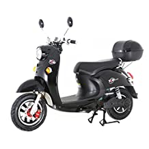 T4B Retro Electric Scooter 500W Plus Motor 60V20AH Liquid Gel Batteries