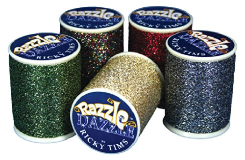 Superior Threads Razzle Dazzle 8 wt. Serger Thread 110 yds Spool Set 25 Colors 120-01-SET by Superior Threads