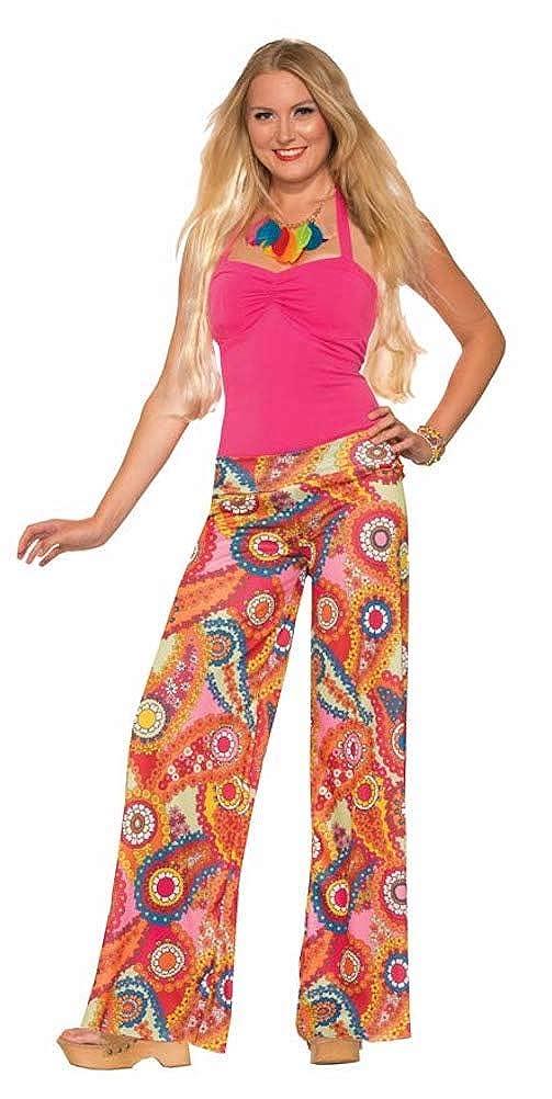 Forum Novelties Paisley Wide Leg Hippie Costume Pants Adult
