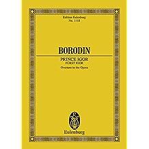 Prince Igor Overture: Orchestra Study Score