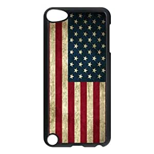 Ipod Touch 5 Phone Case USA American Flag Protective Cell Phone Cases Cover TTR135764