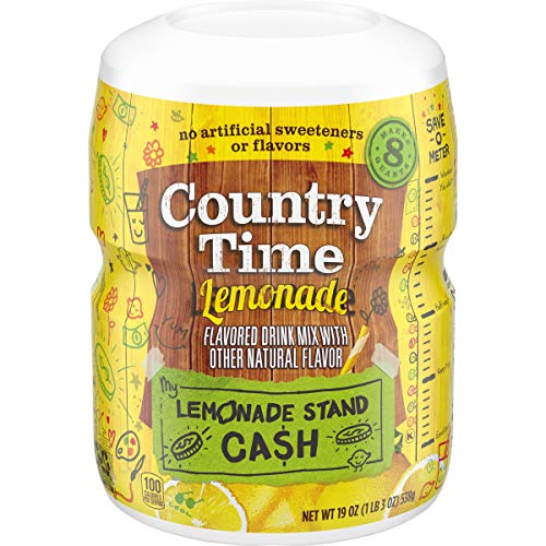 Country Time Drink Mix, Lemonade, 19 oz