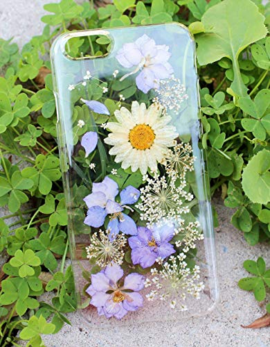 Pressed Purple Flowers Samsung S8, S8 Plus, Note 8 Phone Case, Galaxy...