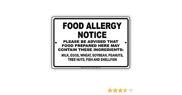 Alergia alimentaria aviso advertencia puede contener leche, huevos ...