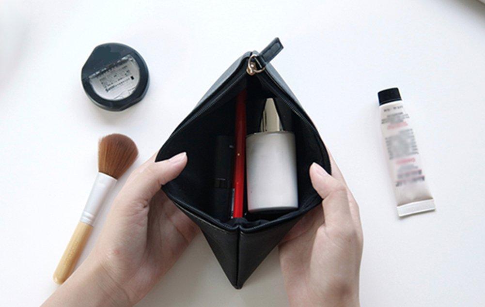 Cosanter PU Cuir Sac de Crayon Cosm/étique Sac Papeterie Sacs pour Fournitures De Bureau Famille /école Rose
