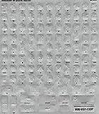 Braille Keyboard Sticker Label Kit