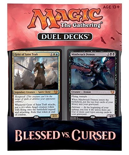MTG Magic the Gathering – Duel Decks: Blessed vs Cursed