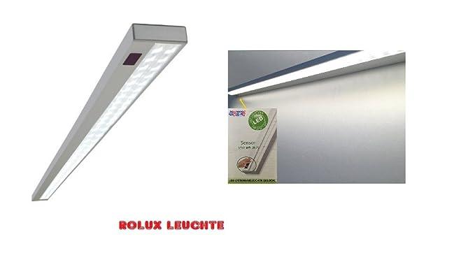 Plafoniera Da Esterno Con Interruttore : Rolux molto elegante alluminio bianco caldo led power lampada da
