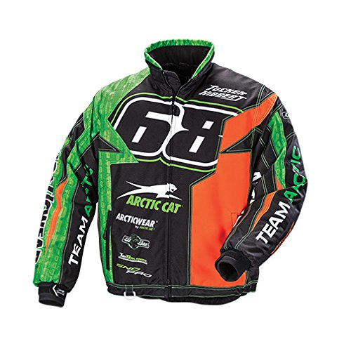 Arctic Cat Youth Jacket Lime 16 Artic Cat 5270-296