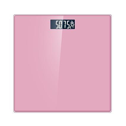 WHUA 180 Kg Electrónica Digital LCD Báscula De Baño De Pesada,CandyPowder