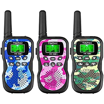 Amazon.com: Bobela Walkie Talkies for Kids Rechargeable with ...