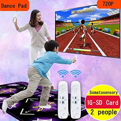 Amazon.com: Aeyer Duet Dance Mat Dancing Step Pad USB ...