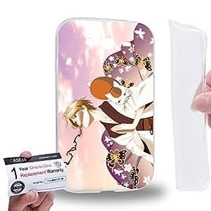 Case88 [Samsung Galaxy Grand Duos i9082 i9080] Gel TPU Carcasa/Funda & Tarjeta de garantía - Natsume's Book of Friends Takashi Natsume 1632