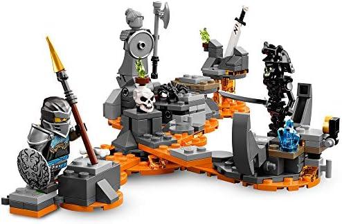 LEGO-Le Dragon du Sorcier au Crâne Ninjago Jeux de Construction, 71721, Multicolore