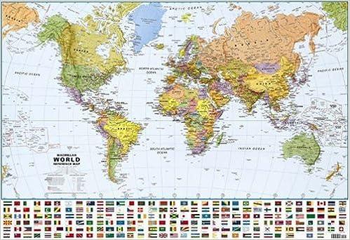 macmillan world reference map lovell johns limited 9780333800072 amazoncom books