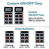 UltraPro 24-Hour Digital Timer, Dual Plug-In, 2