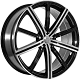 22 Inch Machined Faced/Black Land Rover Wheels Rims