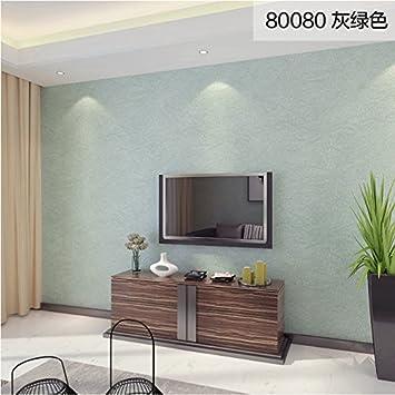 Loaest Grüne Seidentapeten Farbe Vliesstoff Schlafzimmer Wohnzimmer ...