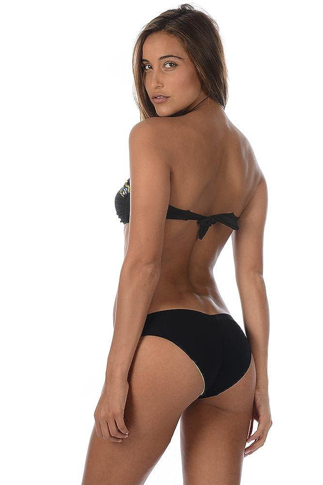 ee996544a6a5 Braga brasileña de Bikini Negra Bluebell - 42: Amazon.es: Ropa y ...
