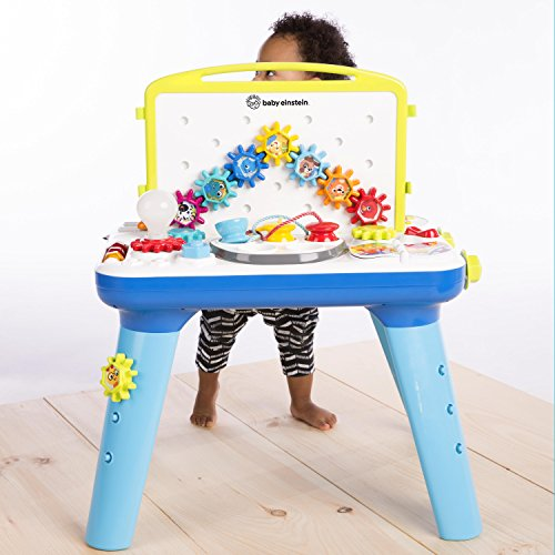 51Y1o1IKEpL - Baby Einstein Curiosity Table Activity Station Table Toddler Toy with Lights and Melodies, Ages 12 months and up