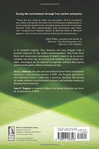 Greener Than Thou: Are You Really An Environmentalist? (Hoover Institution Press Publication)