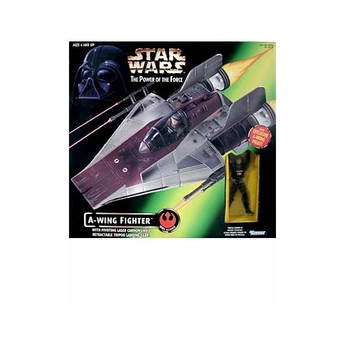 Star Wars Fighter Pilot (Star Wars: Power of the Force A-Wing Fighter with Pilot)