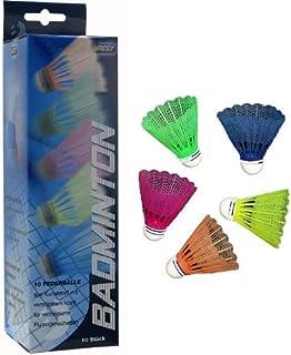 Best Sport Lot de 10 volants de badminton 41206