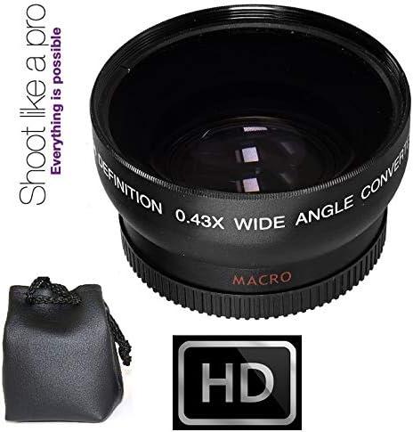 Wide Angle Lens for Canon VIXIA HF10 HF11 HF20 HF100 HF200