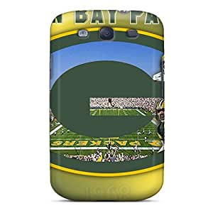 Fashion Tpu Case For Galaxy S3- Green Bay Packers Defender Case Cover