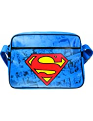 Superman Shoulder Bag | Official Merchandise | DC Comics messenger Bag | Warner Bros