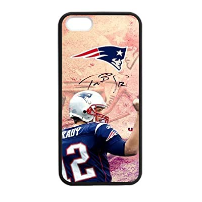 """Caitin Pink Athlete New England Patriot Cell Phone Cases Cover for Iphone 6 Plus(5.5"""")"""