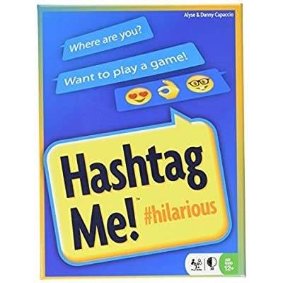 Hashtag Me Card Game: Toys & Games