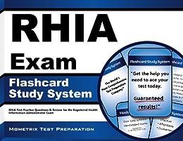 rhia exam flashcard study system rhia test practice questions rh amazon com RHIT Certification Chakra Aura Color Meaning Chart