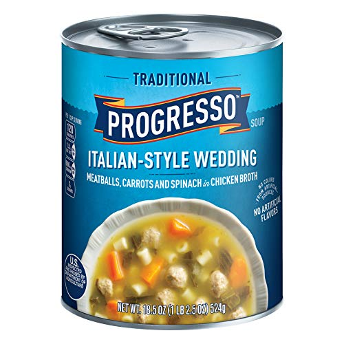 Progresso Traditional ItalianStyle Wedding Soup 185oz Can Pack of 8