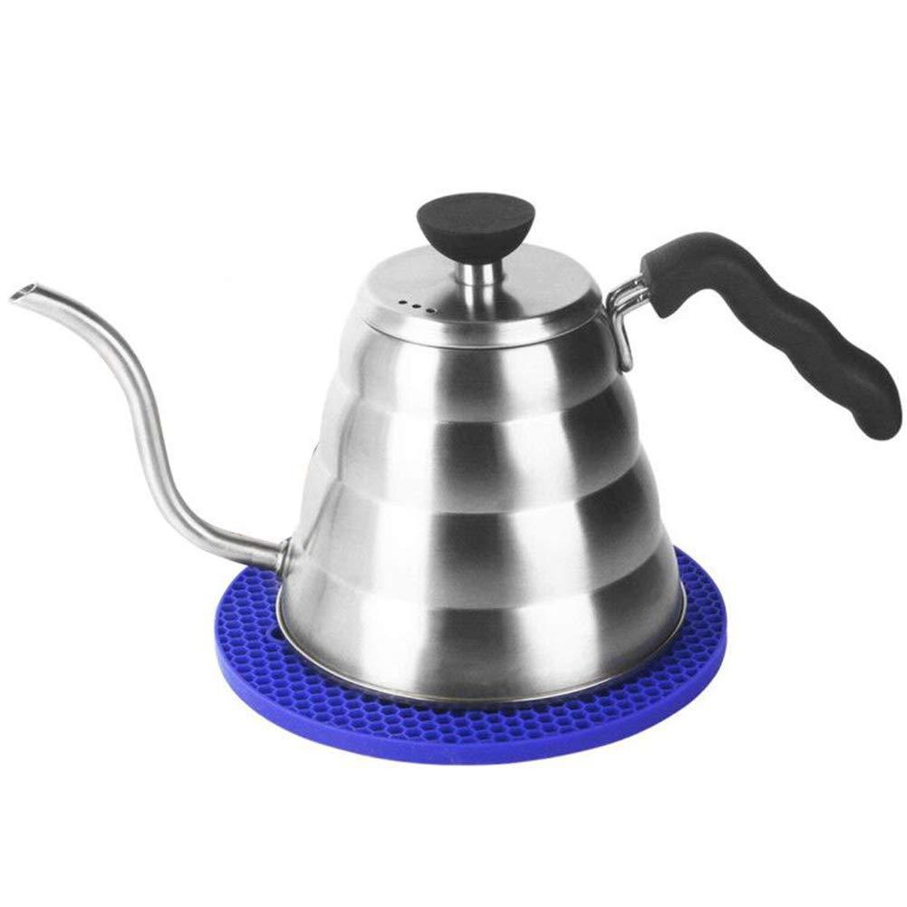 Cafetera Acero Inoxidable Tetera Japonesa Cuello de Cisne Hervidor Capacidad 1.2 L Con Almohadillas de Aislamiento del Calor 4 -5 Tazas - Uvistare