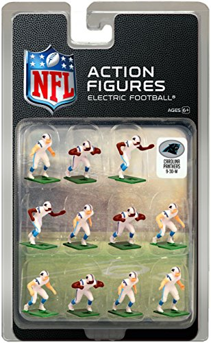 Carolina Panthers Away Jersey NFL Action Figure Set