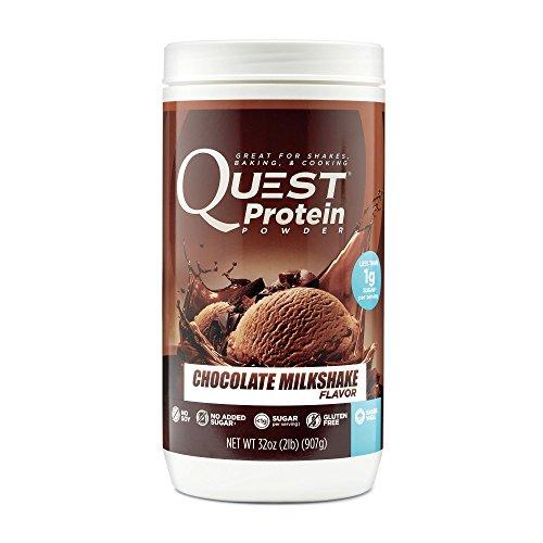Quest Nutrition Protein Powder Milkshake Chocolate, 907 gr by Quest Nutrition