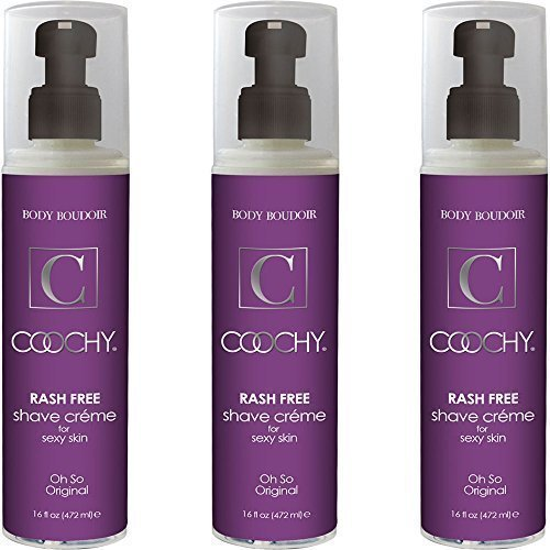 Coochy Original 16 Ounce, Pack of 3 Bottles by DearLady Collection